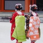 Heian Jingu Shrine - Maiko