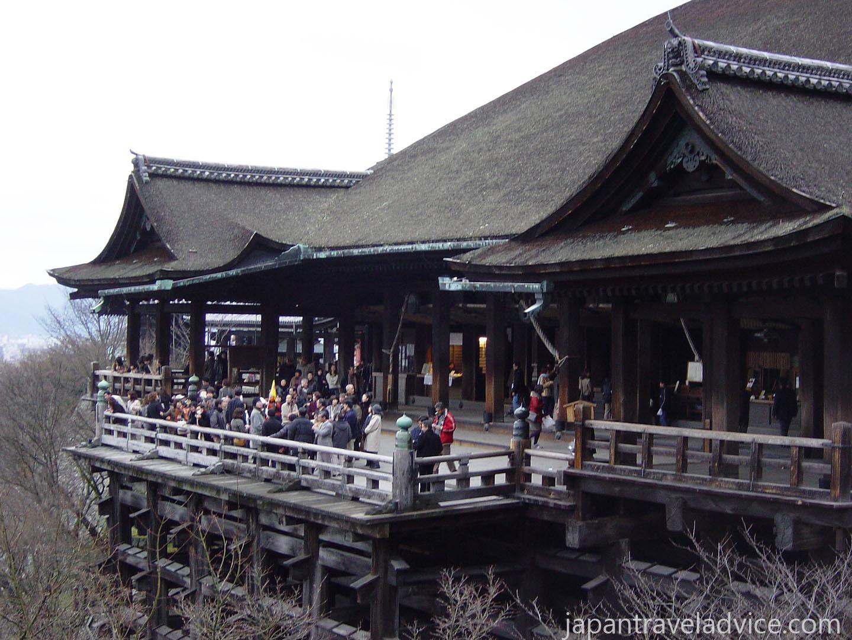 Kiyomizu-dera Veranda