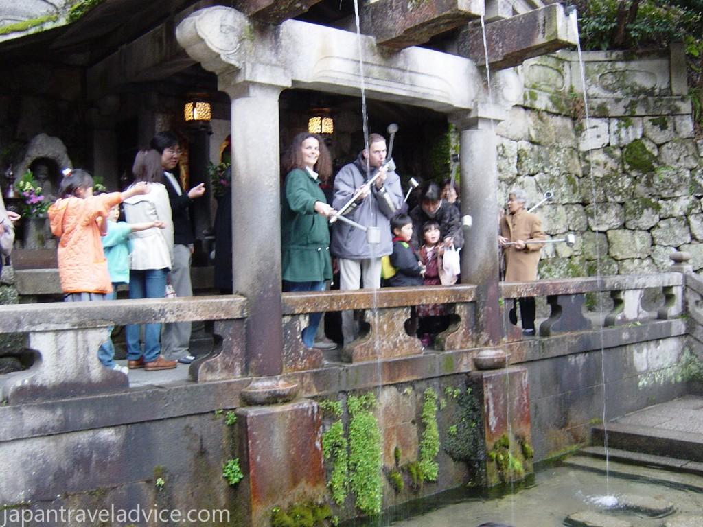 Otowa-no-taki Kiyomizu-dera