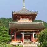 Sai-mon gate Kiyomizu-dera