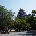 Approach to Okayama Castle