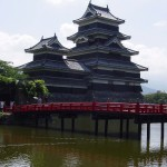 Matsumoto Castle and Red Bridge
