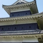 Matsumoto Castle close up
