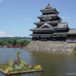 Matsumoto Castle from the water