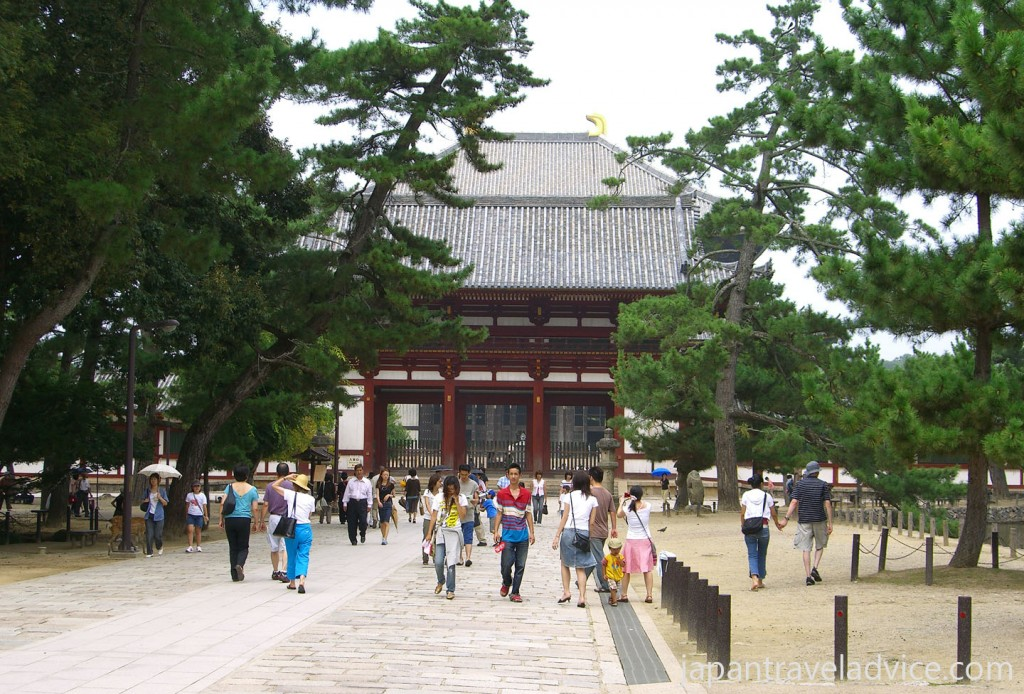 Nakamon Gate Entrance to Todaiji