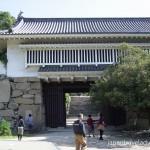 Okayama Castle Akazunomon Gate