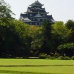 Okayama Castle from Korakuen Garden