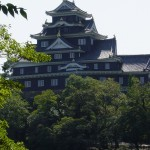 Okayama Castle from across the river