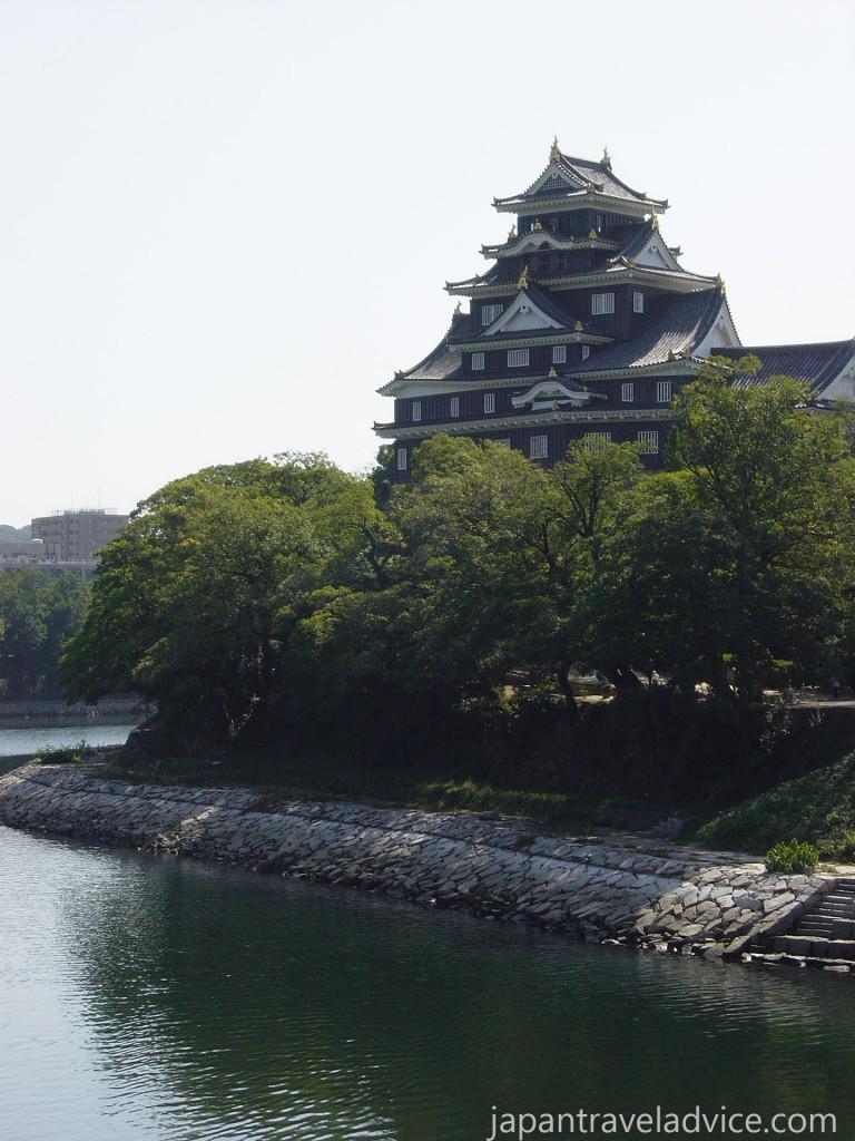 Okayama Castle from the Asahi River
