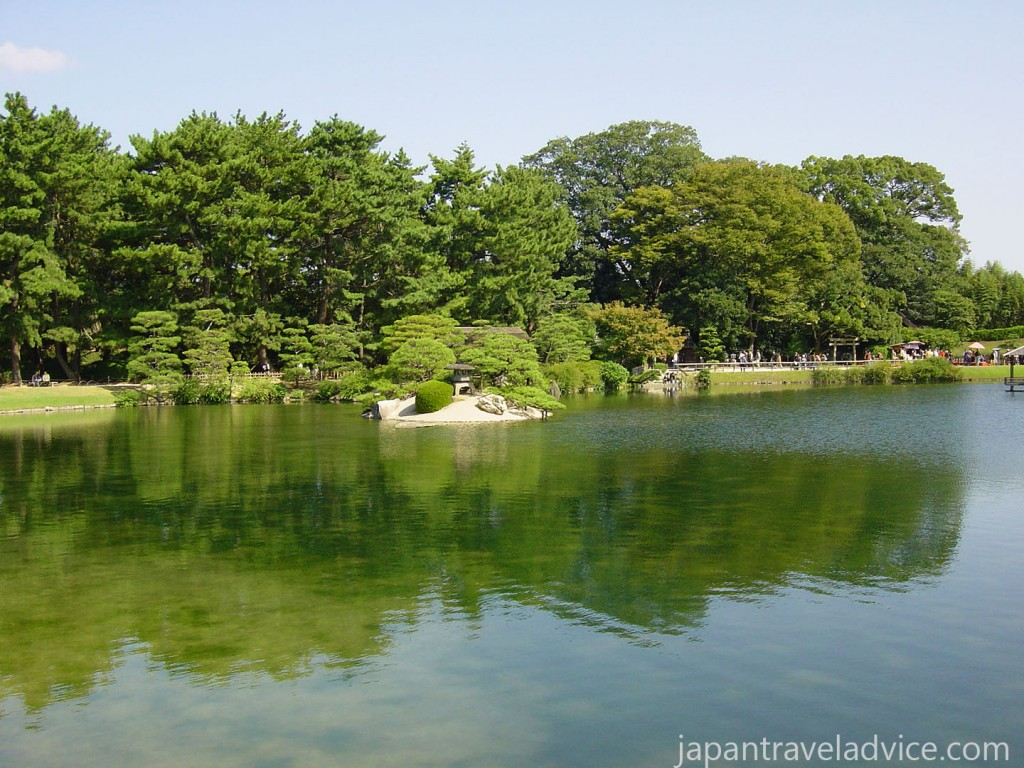 Sawa no ike Pond at Korakuen
