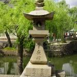Stone lantern in Kurashiki