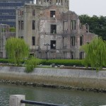 The A-Bomb Dome from across the river