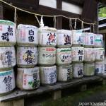 Hono Sakadaru Sake for the Gods at Himure Hachimangu Shrine