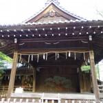 Kagura-den at Himure Hachimangu Shrine
