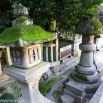 Stone Lanterns at Himure Hachimangu Shrine