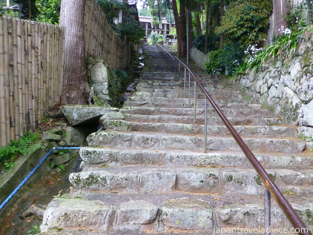808 Stone Steps up to Chomeiji Temple