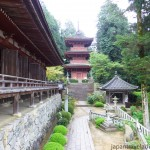 The Chomeiji Temple Complex from the Hondo Main Hall