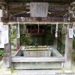Temizuya at Chomeiji Temple