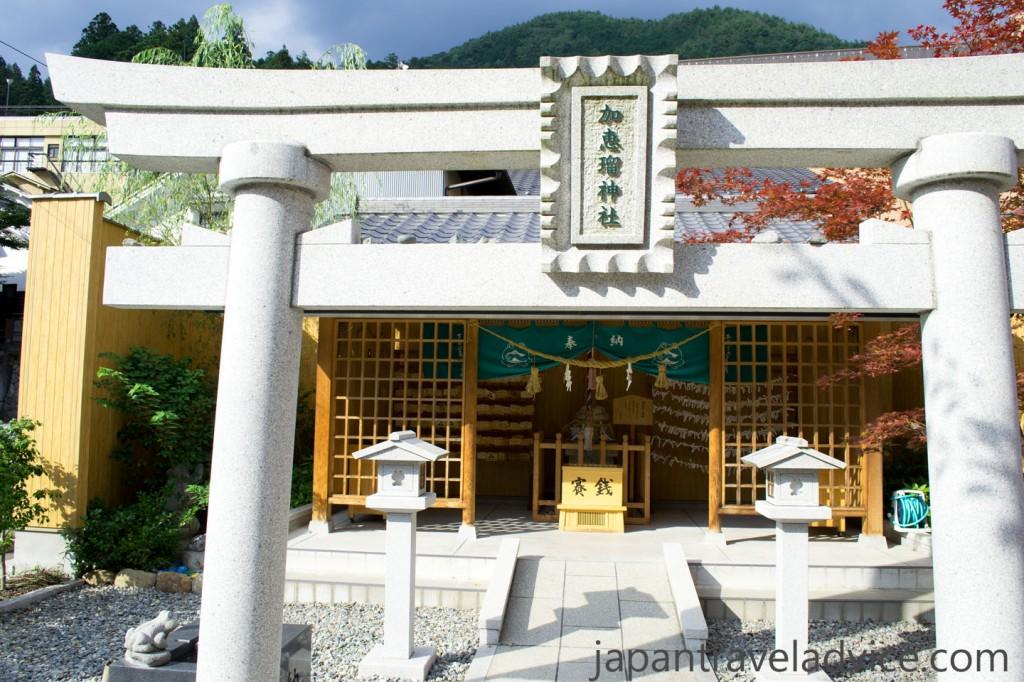Kaeru Jinja Frog Shrine at Gero Onsen
