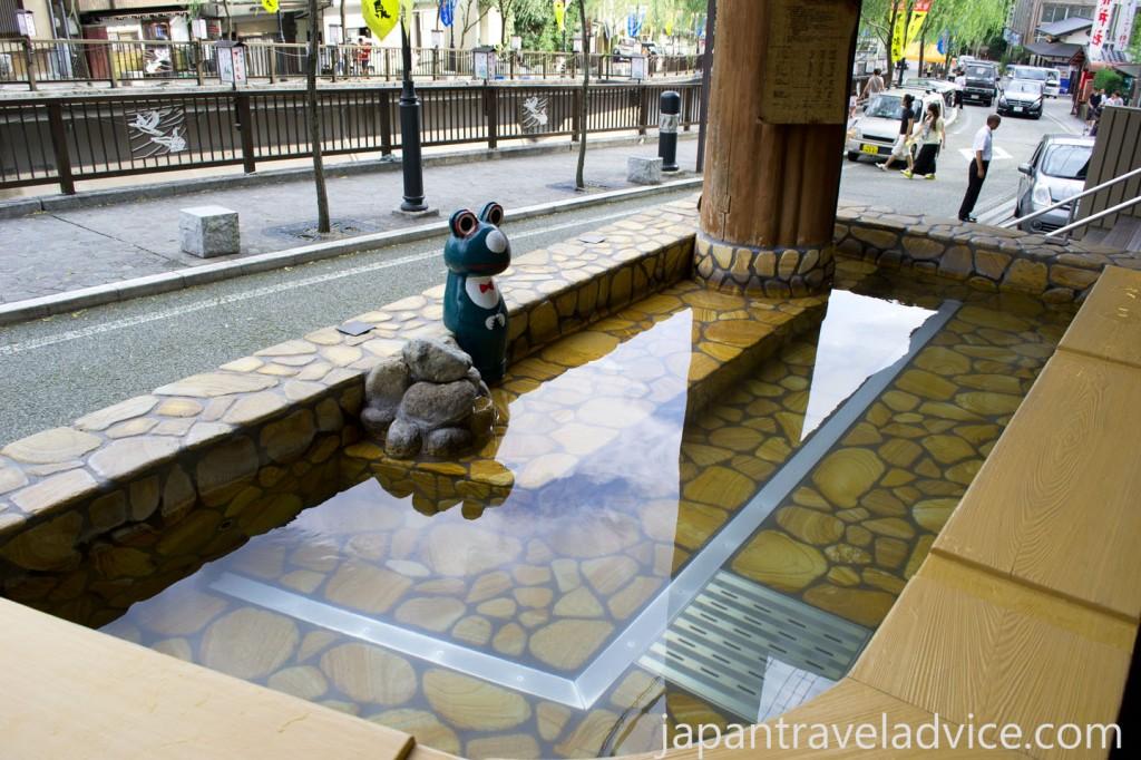 Miyabi Foot Spa at Gero Onsen