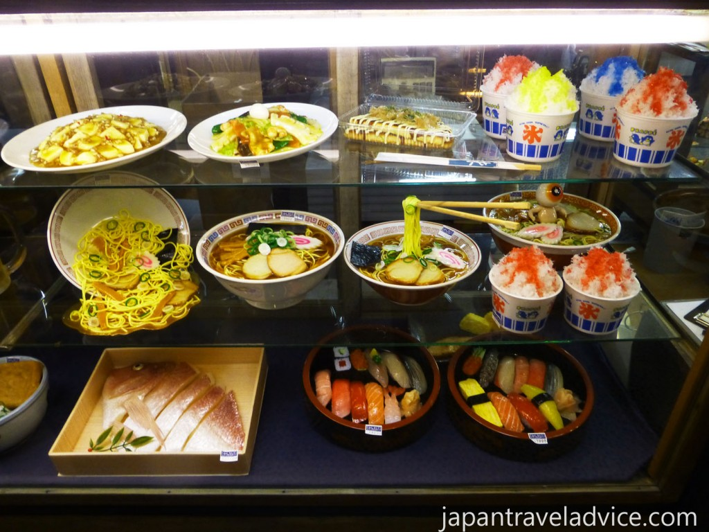 Food Sample at Gujo Hachiman