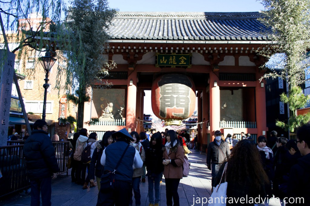 Kaminarimon Gate at Sensoji Temple