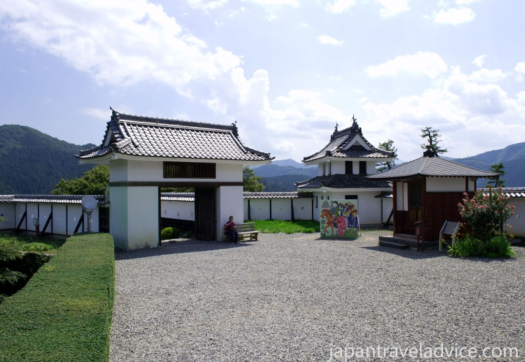 The Main Gate at Gujo Hachiman Castle