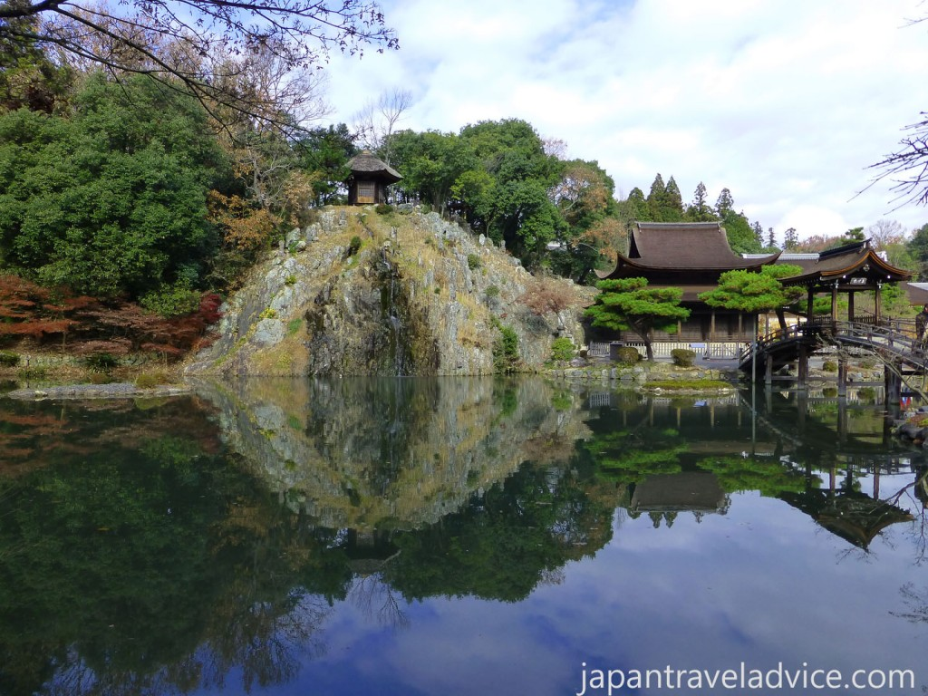 The Pond and Waterfall at Kokeizan Eihoji Temple