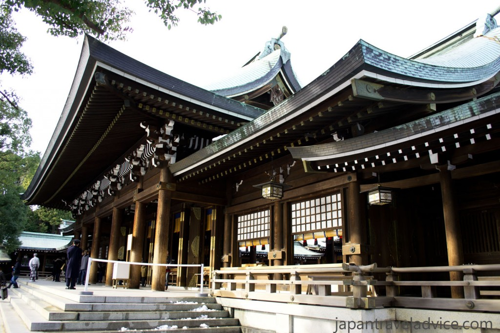 Meiji Jingu Shrine Main Buildings