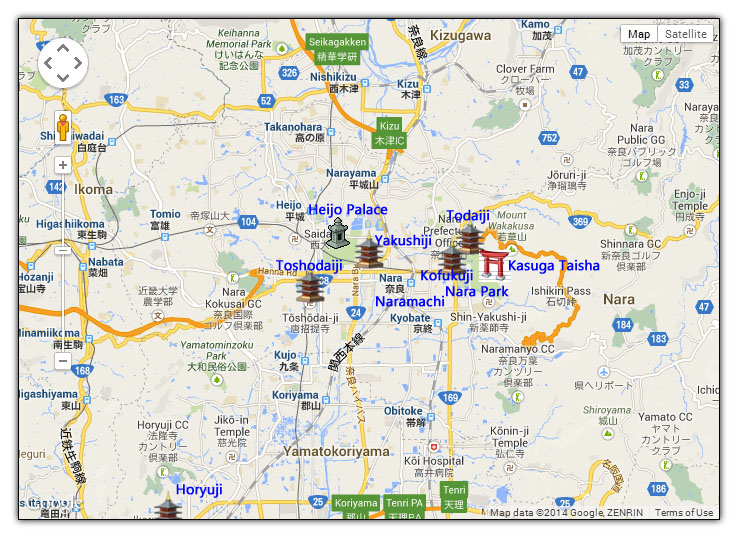 Nara Travel Guide Japan Travel Advice - Japan map nara
