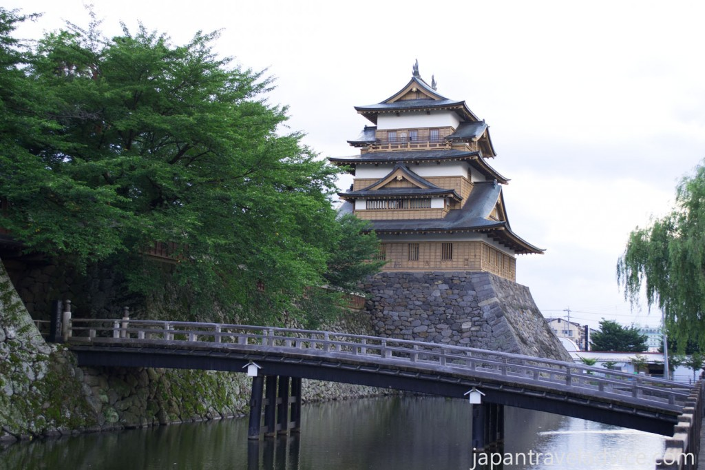 The Bridge and Main Keep of Takashima Castle