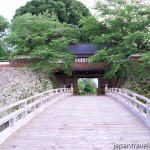 The Bridge and Kabuki-mon Gate at Takashima Castle