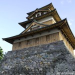The Main Castle Keep at Takashima Castle