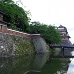 Takashima Castle Corner Turret Bridge and Keep