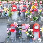 Rows of Jizo Statues