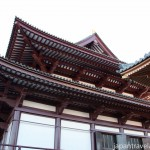 The Architecture at Zojoji Temple